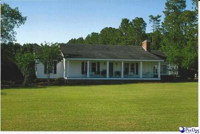 Mullins Single Family Home For Sale: 5404 Lake Russell Road