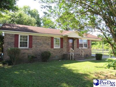 Florence SC Single Family Home For Sale: $46,000
