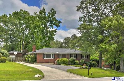 Florence Single Family Home For Sale: 1164 S Edisto