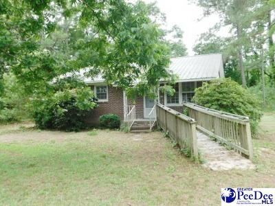 Marion SC Single Family Home For Sale: $21,500