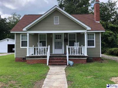 Florence Single Family Home For Sale: 163 S Carolina Drive