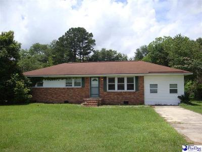 Florence Single Family Home For Sale: 2309 Broad Dr