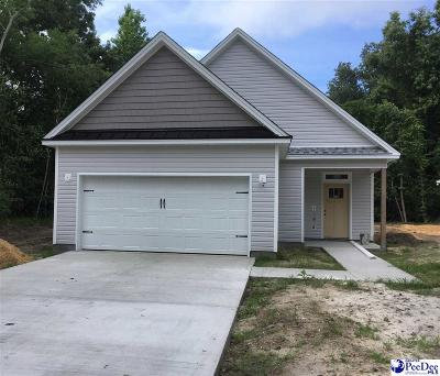 Florence SC Single Family Home For Sale: $186,500