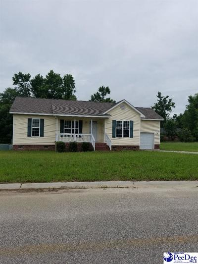 Marion SC Single Family Home For Sale: $109,000