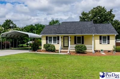 Hartsville Single Family Home Uc/Show For Back Up: 1544 Whippoorwill Rd