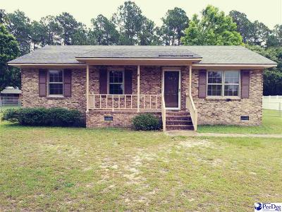 Hartsville Single Family Home For Sale: 2021 Ruby Road