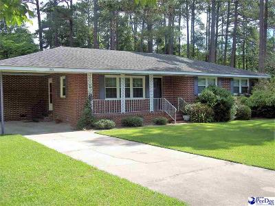 Dillon SC Single Family Home For Sale: $139,900