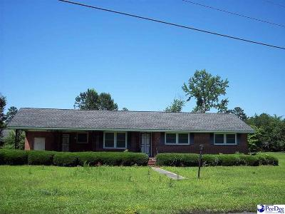 Dillon SC Single Family Home For Sale: $124,900