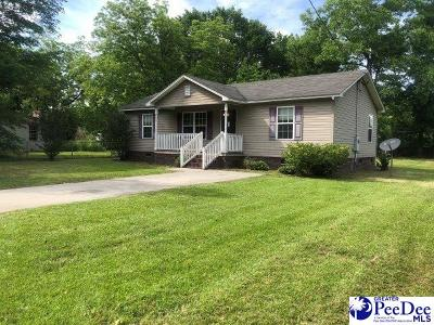 Marion SC Single Family Home For Sale: $79,000
