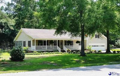 Bennettsville Single Family Home Uc/Show For Back Up: 405 Pinewood Street