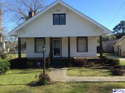 Darlington County Single Family Home For Sale: 119 Law Street