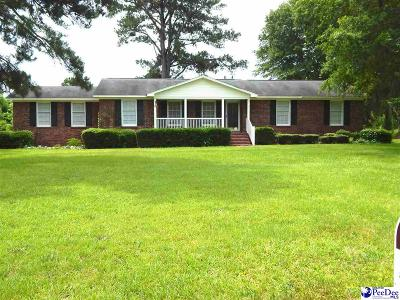 Timmonsville Single Family Home Uc/Show For Back Up: 5120 Sardis Hwy