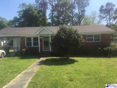 Marion SC Single Family Home For Sale: $77,000