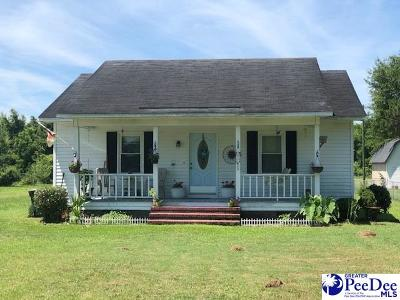 Timmonsville Single Family Home For Sale: 610 S Hill St