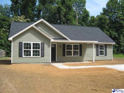 Florence SC Single Family Home For Sale: $132,900