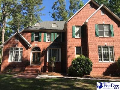 Hartsville SC Single Family Home Uc/Show For Back Up: $259,000