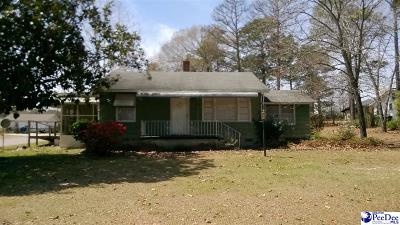 Hartsville Single Family Home Uc/Show For Back Up: 1004 N Rolling Road