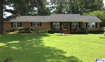 Florence County Single Family Home For Sale: 308 E Myrtle Beach Hwy