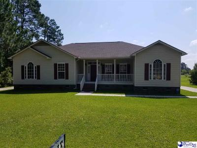 Mullins Single Family Home For Sale: 1105 S Main Street