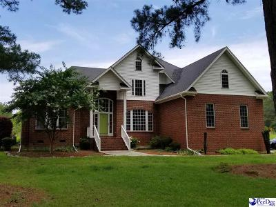 Hartsville Single Family Home For Sale: 180 Sandy Point Lane