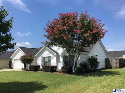 Effingham Single Family Home Uc/Show For Back Up: 2129 Tillers Plow Row