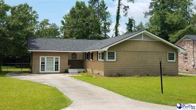 Florence SC Single Family Home Uc/Show For Back Up: $185,000