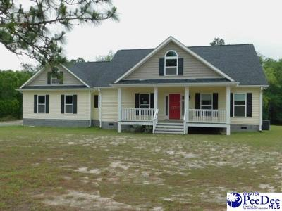 Hartsville Single Family Home Active-Price Change: 1741 Geechie Drive