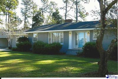 Mullins Single Family Home For Sale: 334 Powhatan
