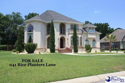 Single Family Home For Sale: 941 Rice Planters Lane
