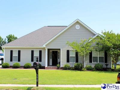 Florence SC Single Family Home Uc/Show For Back Up: $139,900