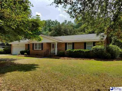 Bennettsville Single Family Home Uc/Show For Back Up: 603 Lakeshore Drive