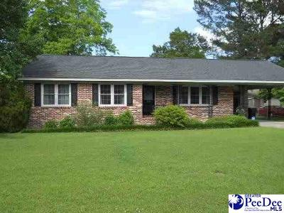 Mullins Single Family Home For Sale: 1004 Myrtle Street