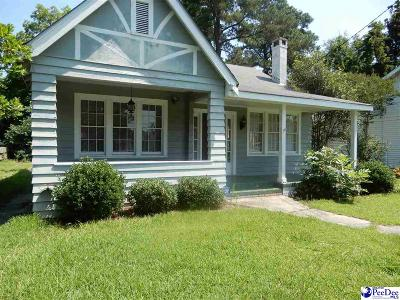 Florence SC Single Family Home New: $80,000