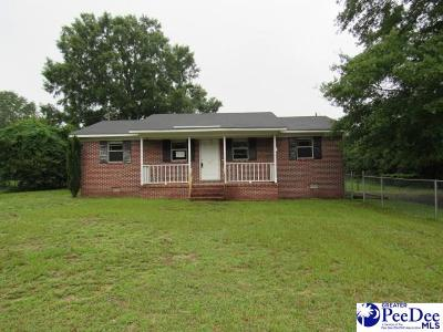 Florence SC Single Family Home For Sale: $37,500