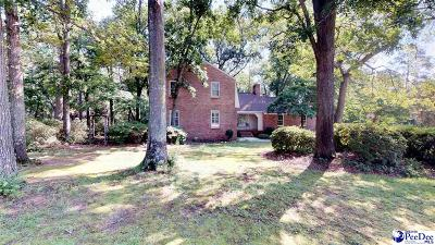 Hartsville Single Family Home For Sale: 325 Oakdale Dr