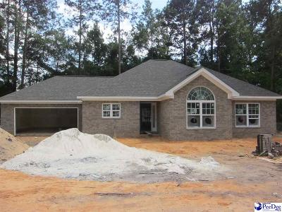 Hartsville SC Single Family Home Uc/Show For Back Up: $205,000