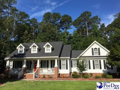 Hartsville SC Single Family Home Uc/Show For Back Up: $320,000