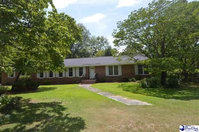 Hartsville SC Single Family Home For Sale: $227,500