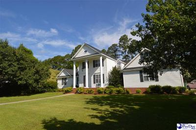 Hartsville SC Single Family Home Uc/Show For Back Up: $229,900