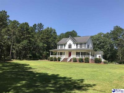 Hartsville SC Single Family Home Uc/Show For Back Up: $269,500