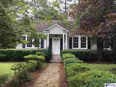Hartsville Single Family Home Uc/Show For Back Up: 535 Prestwood Dr