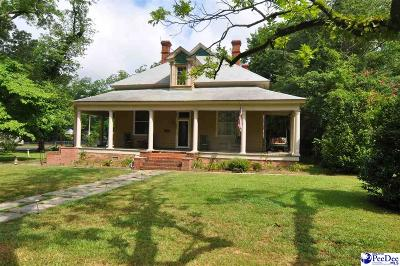 Bennettsville Single Family Home For Sale: 901 Covington
