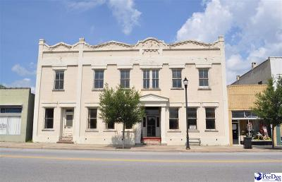 Florence, Flrorence, Marion, Pamplico Commercial For Sale: 217 N Main Street