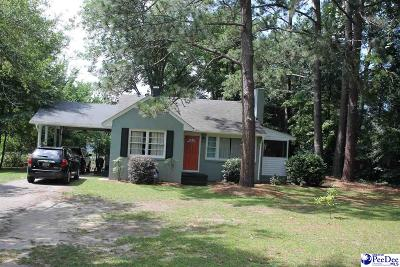 Hartsville Single Family Home For Sale: 924 Hannah Ave