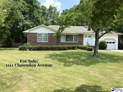 Florence Single Family Home For Sale: 1111 Clarendon Avenue