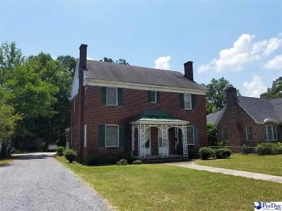 Bennettsville Multi Family Home Uc/Show For Back Up: 408/410 Fayetteville Avenue