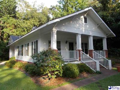 Hartsville Single Family Home Uc/Show For Back Up: 527 N 5th St