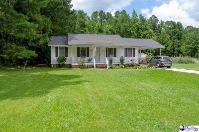 Florence County Single Family Home Uc/Show For Back Up: 4503 Four Seasons Rd