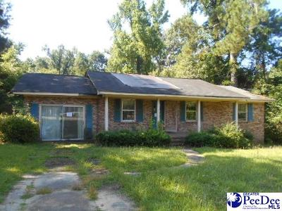 Kingstree Single Family Home Under Contingency Cont: 511 Gilland Ave
