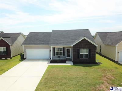 Florence County Single Family Home Uc/Show For Back Up: 3024 Red Berry Circle